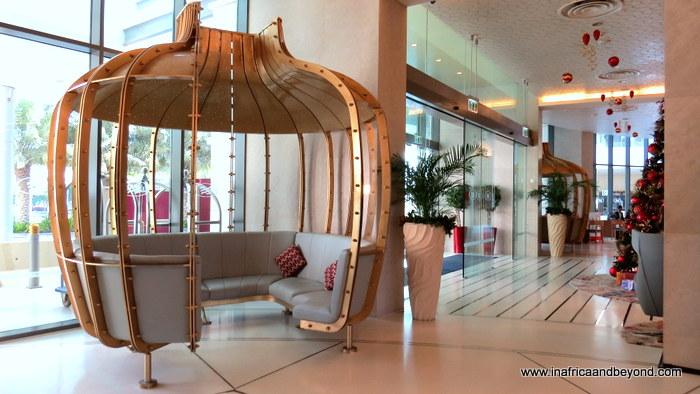 Crowne Plaza Abu Dhabi Yas Island lobby