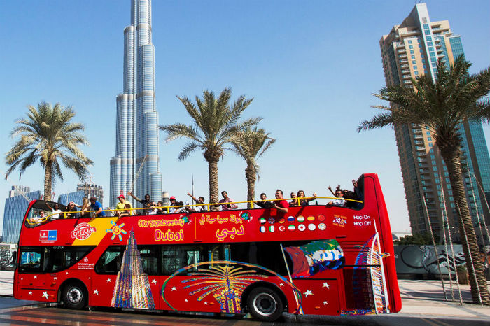 City Sightseeing Bus Dubai