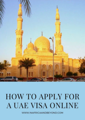How to apply for a UAE Visa online  5