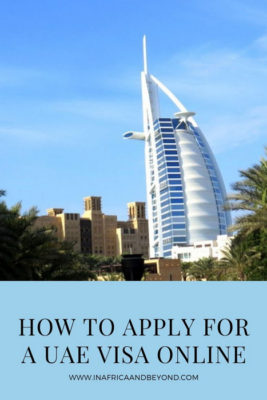 how to apply for a uae visa online