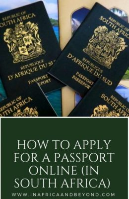 How to apply for a South African passport online - In Africa