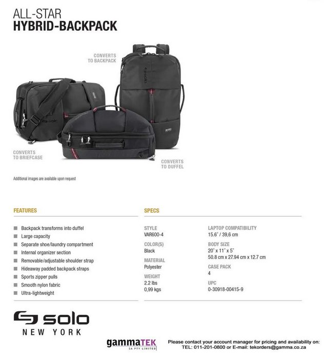 All-Star Hybrid Backpack