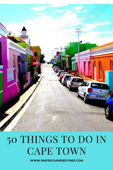 50 things to do in cape town