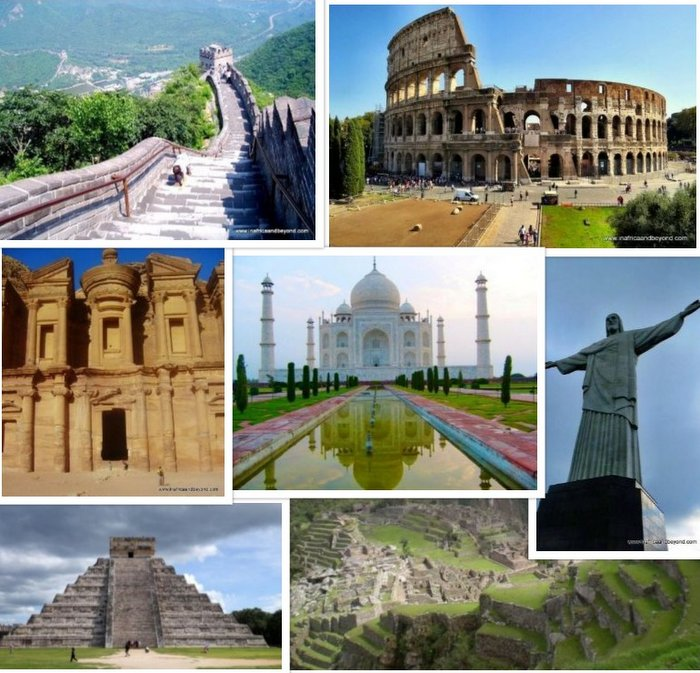 7 wonders of the World | Update your General Knowledge ...  |7 Wonders Of The World 2012 With Name
