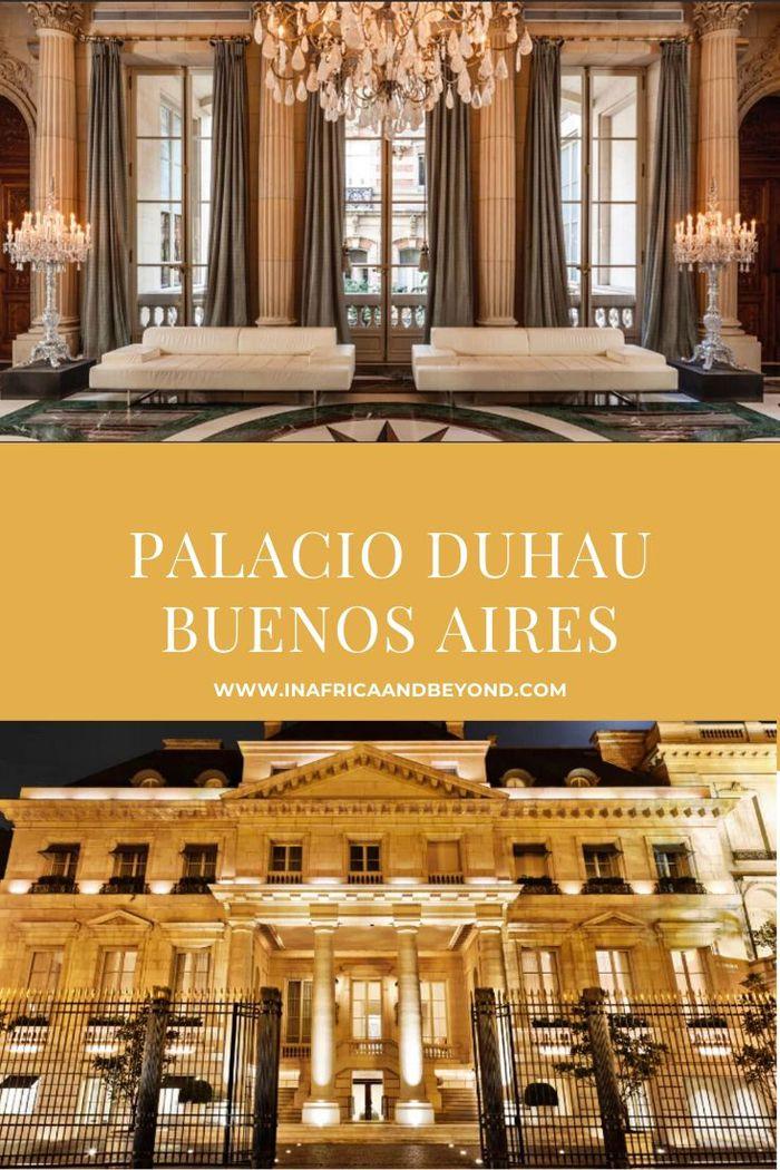 Palacio Duhau in Buenos Aires