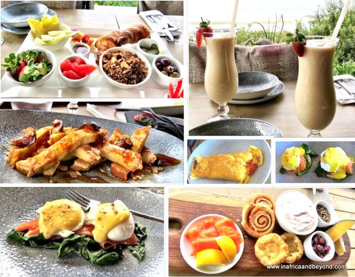 Breakfast at Sky Villa