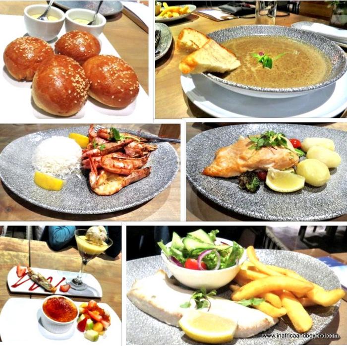 Dinner at Sky Villa