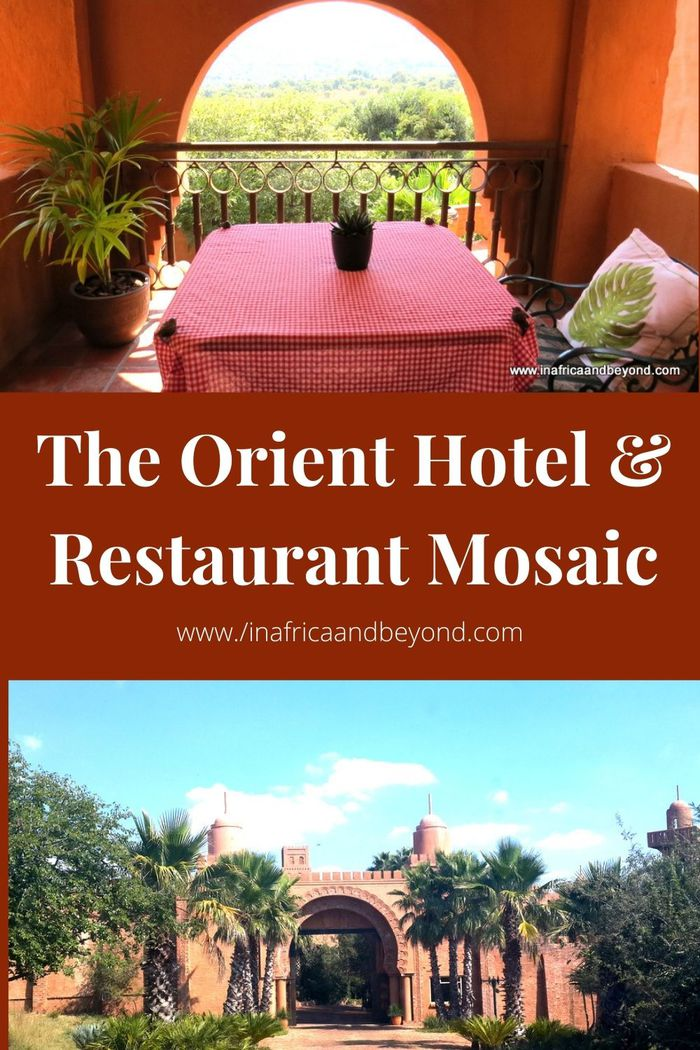 The Orient Hotel and Restaurant Mosaic