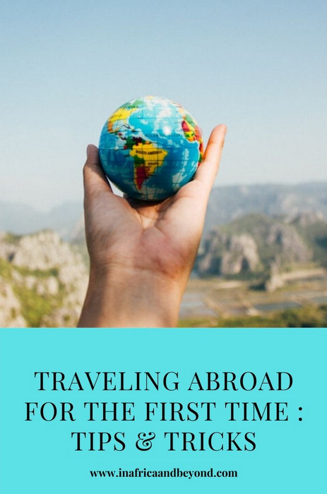 Traveling abroad for the first time