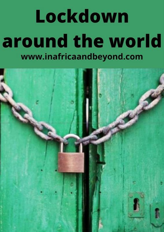 Lockdown around the world