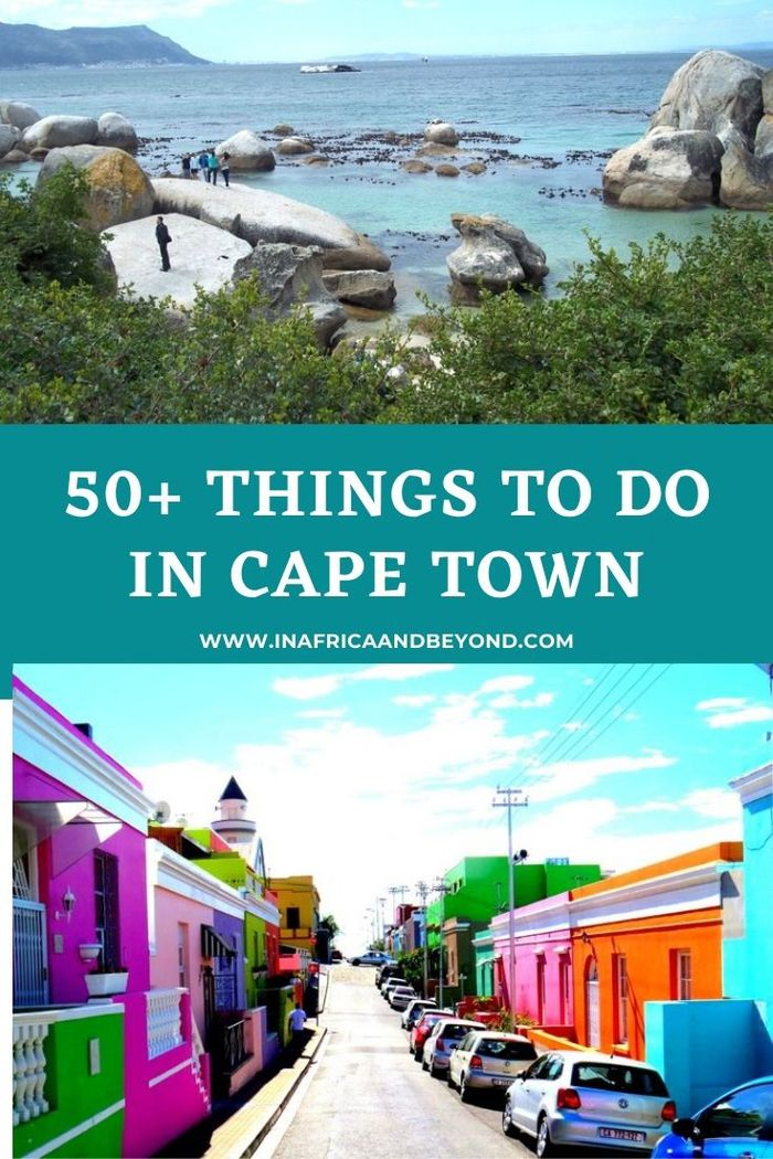 50+ things to do in Cape Town