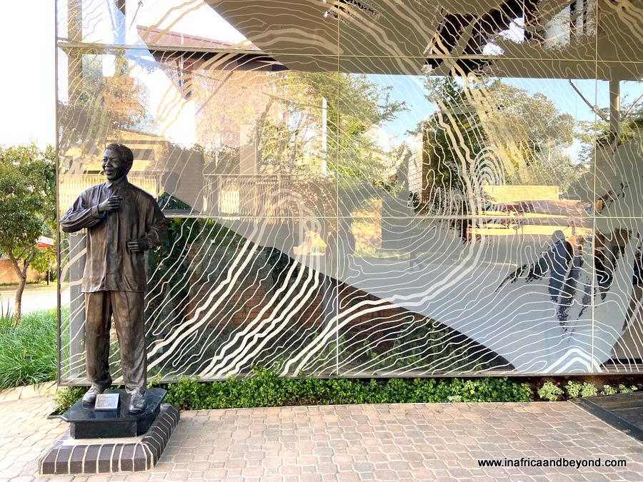 Nelson Mandela sites in Johannesburg
