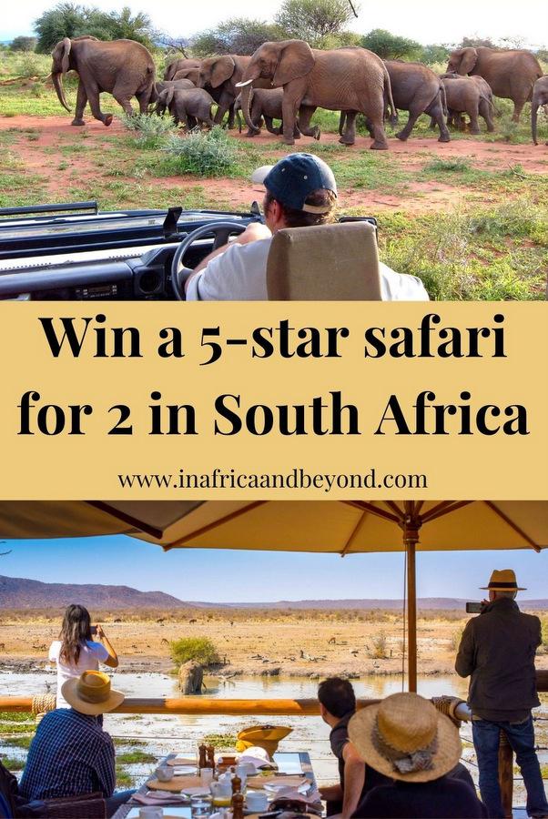 Win a 5-star safari