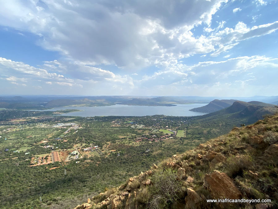 View from Hartbeespoort Aerial Cableway