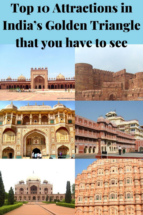 attractions in India's Golden Triangle