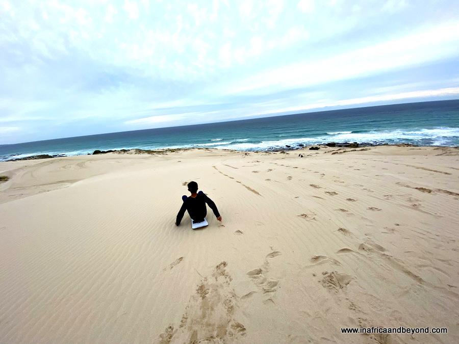 De Hoop Sandboarding