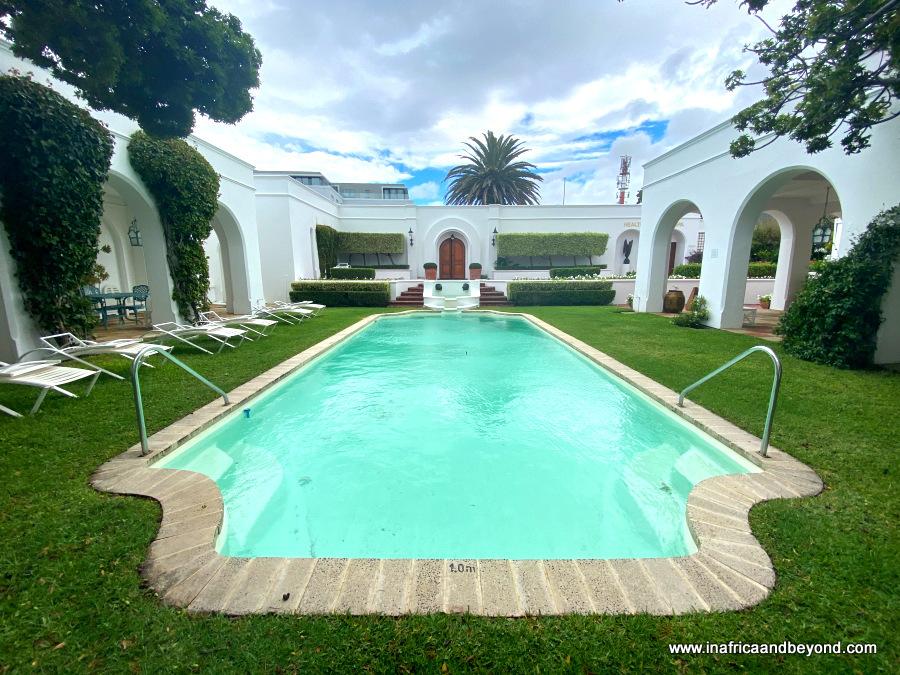 The Marine Hotel Hermanus Pool