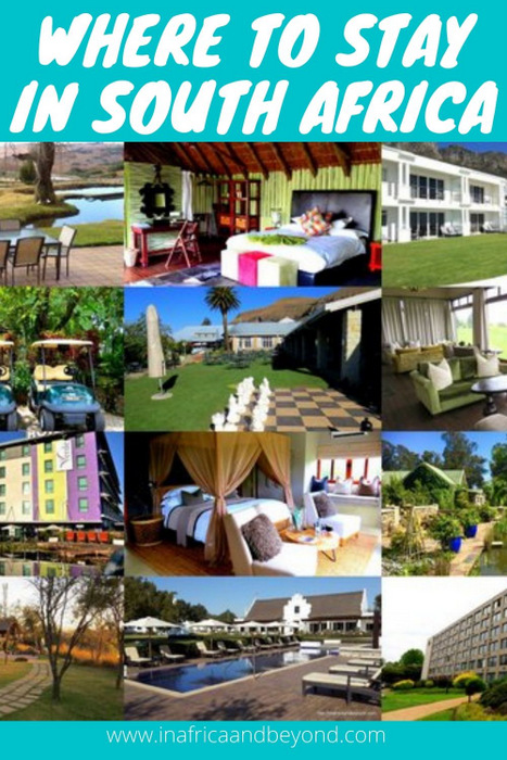 Holidays in South Africa - Where to stay