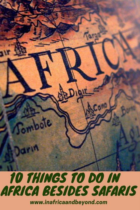 Lugares de interés en África